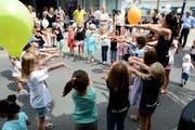 Tanz und Mini-Disco für die Kleinen zum Mitmachen mit der Jam 29 Aerobic Factory.
