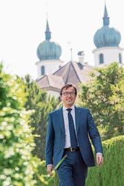 Wird nun ein Jahr lang den Ratsbetrieb leiten: Josef Wyss. (Bild: Nadia Schärli, Eschenbach, 7. Juni 2019)