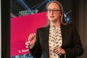 Bettina Hein sagte am Startfeld eine Internetrevolution voraus. (Bild: PD)