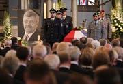 Die Trauerfeier des Anfang Juni ermordeten Kasseler CDU-Politikers Walter Lübcke. (Bild: Sean Gallup/Getty, 13. Juni 2019)