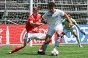 Hier ist Salah Aziz Binous für die U21 des FC Zürich im Einsatz. (Bild: Claudio Thoma/freshfocus, 30. Mai 2019)