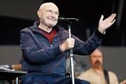 Phil Collins bei seinem Auftritt im Letzigrund-Stadion. (Bild: André Albrecht (Zürich, 18. Juni 2019))
