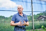 Stettler ist genervt über die Kritik an den Bauern. (Bild: Colin Frei)