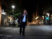 Der frühere UEFA-Präsident Michel Platini wurde in der Nacht auf Mittwoch von der französischen Polizei wieder aus dem Gewahrsam entlassen. (Bild: KEYSTONE/EPA/JULIEN DE ROSA)