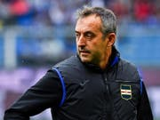Marco Giampaolo wurde 1967 in Bellinzona geboren. Nun wird er Trainer beim italienischen Traditionsklub AC Milan (Bild: KEYSTONE/EPA ANSA/SIMONE ARVEDA)