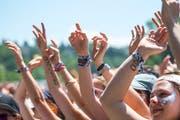 Die Besucher des OASG müssen sich dieses Jahr mit Sonnencreme statt Gummistiefel ausrüsten. (Bild: Urs Bucher)
