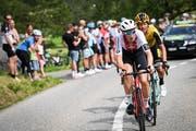 Die Tour de Suisse begeistert zurzeit die Radsportfans. Ob die Fahrt über den Sustenpass führen kann, ist jedoch noch fraglich. (Bild: Keystone / Gian Ehrenzeller, 18. Juni 2019)
