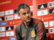 Luis Enrique hört als spanischer Nationalcoach auf (Bild: KEYSTONE/EPA/DOMENIC AQUILINA)