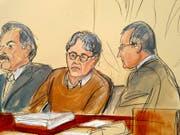 Frauen aufs übelste ausgebeutet: Der schuldig gesprochene Sex-Guru Keith Raniere vor Gericht in New York. (Bild: KEYSTONE/FRE142054 AP/ELIZABETH WILLIAMS)