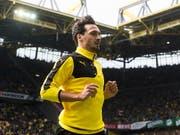 Mats Hummels - hier in einer Aufnahme von 2016 - wird in der kommenden Saison wieder das Dortmunder Gelb-Schwarz tragen. (Bild: KEYSTONE/EPA DPA/BERND THISSEN)