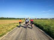 Die ersten Kilometer führen durch das Thurgau. (Bild: Raphael Rohner)