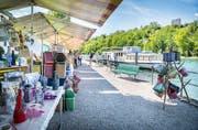 Sommermarkt St. Katharinental. (Bild: Andrea Stalder)