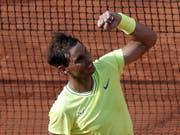 Rafael Nadal wurde im Achtelfinal kaum gefordert (Bild: KEYSTONE/EPA/YOAN VALAT)