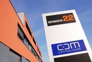 Der heutige Hauptsitz von Connect Com in Hünenberg. (Bild: PD)