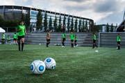 Training der U14 des Nachwuchsprojekts FCO im Gründenmoos. (Bild: Michel Canonica)