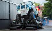 Die «Hollywood Stunt & Action Show» gastierte 2016 bereits einmal in Wittenbach. (Bild: Andrea Stalder)