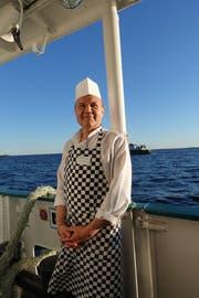 Eine Seefahrt ist nicht nur lustig, sondern für Küchenchef Vladimir Suew eine echte Herausforderung. (Bild: Ingrid Schindler)