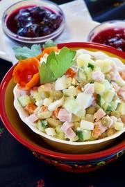 Russischer Salat. (Bild: Flurina Rothenberger)