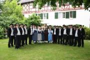 Die Sängerinnen und Sänger des Jodlerclubs Stadt St.Gallen. (Bild: PD - 22. Juni 2019)