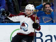 Sven Andrighetto wird nächste Saison nicht mehr für Colorado Avalanche auflaufen (Bild: KEYSTONE/AP/JEFF ROBERSON)