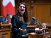 Tiana Angelina Moser will den Ratssaal wechseln. Die GLP-Nationalrätin wird im Herbst um einen der beiden Zürcher Ständeratssitze kämpfen. (Bild: KEYSTONE/ANTHONY ANEX)