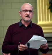 Thomas Schwager, Präsident St.Galler Grüne. (Bild: Regina Kühne)