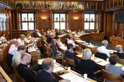 Der Kantonsrat traf sich am 17. Juni zur ersten Sitzung des Amtsjahres 2019/2020.
