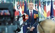 Nato-Generalsekretär Jens Stoltenberg will in Zukunft «auch im Weltraum wachsamer» sein. (Bild: D. Aydemir/Anadolu (Brüssel, 26. Juni 2019)