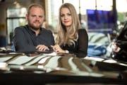 Fabienne Suter-Kuratli und Mirco Suter übernehmen nach dem Tod von Vater Werner Suter die Leitung des Auto-Zentrums West in St.Gallen. (Bild: PD)