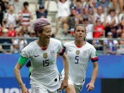 Erfolgreich an der WM, aber kein Bock auf Präsident Trump: US-Captain Megan Rapinoe (Bild: KEYSTONE/AP/ALESSANDRA TARANTINO)