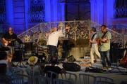 Kurz vor 22 Uhr endet das Freiluft-Konzert in der Bischofszeller Altstadt.
