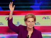 Ist eine der Favoritinnen für die Nomination als demokratische US-Präsidentschaftskandidatin bei den Wahlen 2020: Senatorin Elisabeth Warren aus Massachusetts. (Bild: KEYSTONE/AP/WILFREDO LEE)