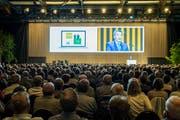 Die TKB-Partizipantenversammlung hat nichts zu sagen; der Kanton entscheidet allein. (Bild: Reto Martin)