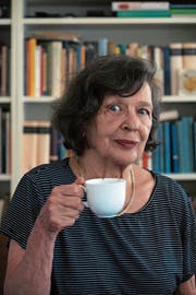Liebt vergessene Wörter: Zsuzsanna Gahse. (Bild: Dieter Langhart)