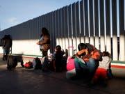 Der US-Kongress hat Nothilfen in Höhe von 4,6 Milliarden Dollar angesichts der Migrationskrise an der Grenze zu Mexiko freigegeben. (Bild: KEYSTONE/AP/GREGORY BULL)