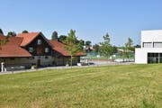 Der Busa-Neubau soll auf dem Gelände zwischen Kaserne und Sportzentrum entstehen. Dieses ist im Eigentum des Bundes. (Bild: Alessia Pagani)