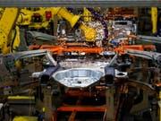 Der US-Autobauer will in Europa sechs Fabriken schliessen. (Bild: KEYSTONE/EPA/TANNEN MAURY)