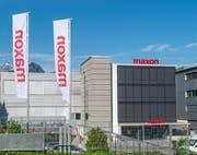 Das «Motor» im Firmennamen verschwindet: Blick auf den Hauptsitz von Maxon in Sachseln. (Bild: PD)
