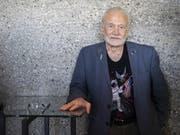 Auch mit 89 lässt der Mond ihn nicht los: Buzz Aldrin, der zweite Mann auf dem Mond, präsentierte am Starmus-Festival die Pläne der Nasa für weitere Mond-Missionen. Und seine eigenen Ideen dazu. (Bild: KEYSTONE/ENNIO LEANZA)