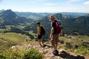 Berggängern stehen diverse Apps zur Planung und Durchführung von Touren zur Verfügung. (Bild: Urs Jaudas)