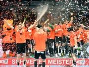 Jubeln die Kadetten auch in der Champions League? (Bild: KEYSTONE/WALTER BIERI)