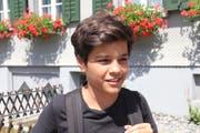 Auron Maloku, 13, Schüler, Abtwil (Bilder: Emma-Emily Wolf)