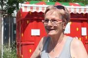 Anny Heuberger, 67 Hausfrau, Schneiderin, Abtwil