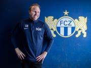 Trainer Ludovic Magnin muss mit dem FCZ zum Cup-Auftakt beim Stadtrivalen Black Stars antreten (Bild: KEYSTONE/MELANIE DUCHENE)