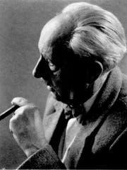 Der Pionierfotograf Hans Labhart (1887-1975). Ganz Rorschach kannte sein Atelier.