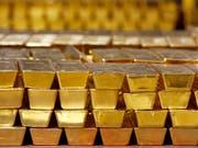 Gold hat den Status als sicheren Hafen nicht verloren. (Bild: KEYSTONE/AP/MIKE GROLL)