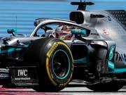 Bestzeit im ersten Training für den WM-Leader und Weltmeister: Lewis Hamilton ist auch in Spielberg der Schnellste (Bild: KEYSTONE/EPA/VALDRIN XHEMAJ)