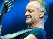 Der britische Musiker Sting eröffnet heute Abend als erster Headliner das 53. Montreux Jazz Festival. (Keystone/DPA/CHRISTOPHE GATEAU) (Bild: Keystone/DPA/CHRISTOPHE GATEAU)