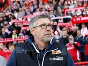 Urs Fischer startet das Bundesliga-Abenteuer mit Union Berlin am 17. August gegen RB Leipzig (Bild: KEYSTONE/EPA/FELIPE TRUEBA)