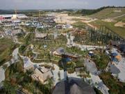 Einst in der Not verkauft: die Freizeitparks Legoland. (Bild: KEYSTONE/AP/Lai Seng Sin)